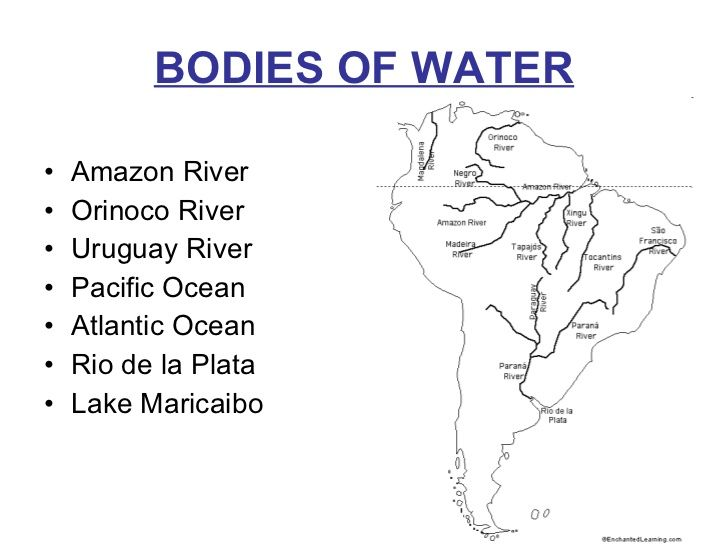 Montessori Outline Maps With Rivers Google Search Material: South America Map Of Rivers At Codeve.org