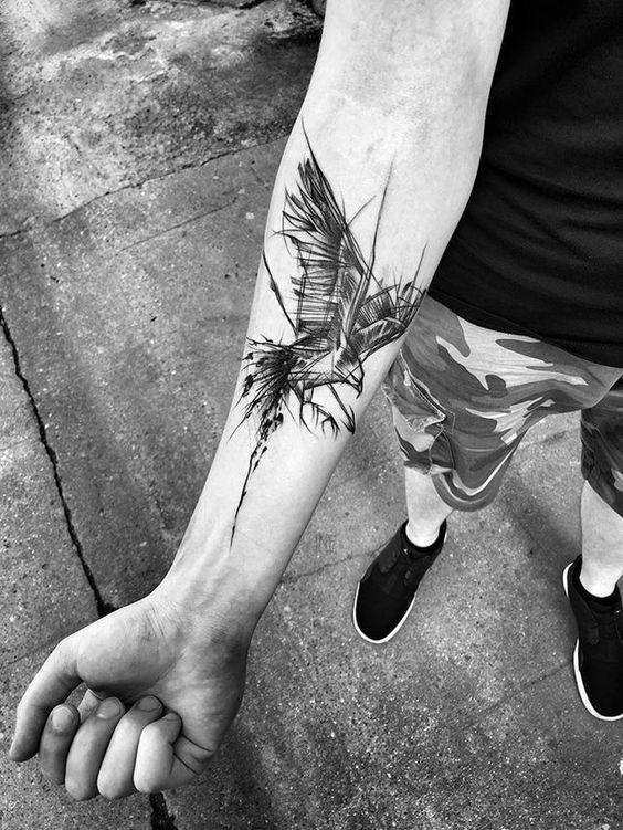Photo of Take A Look At These Wild Sketch Tattoos