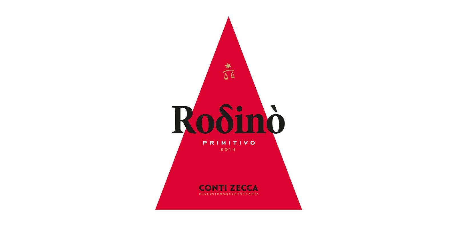 Rodino Conti Zecca Wine Label Creative Packaging Design Labels