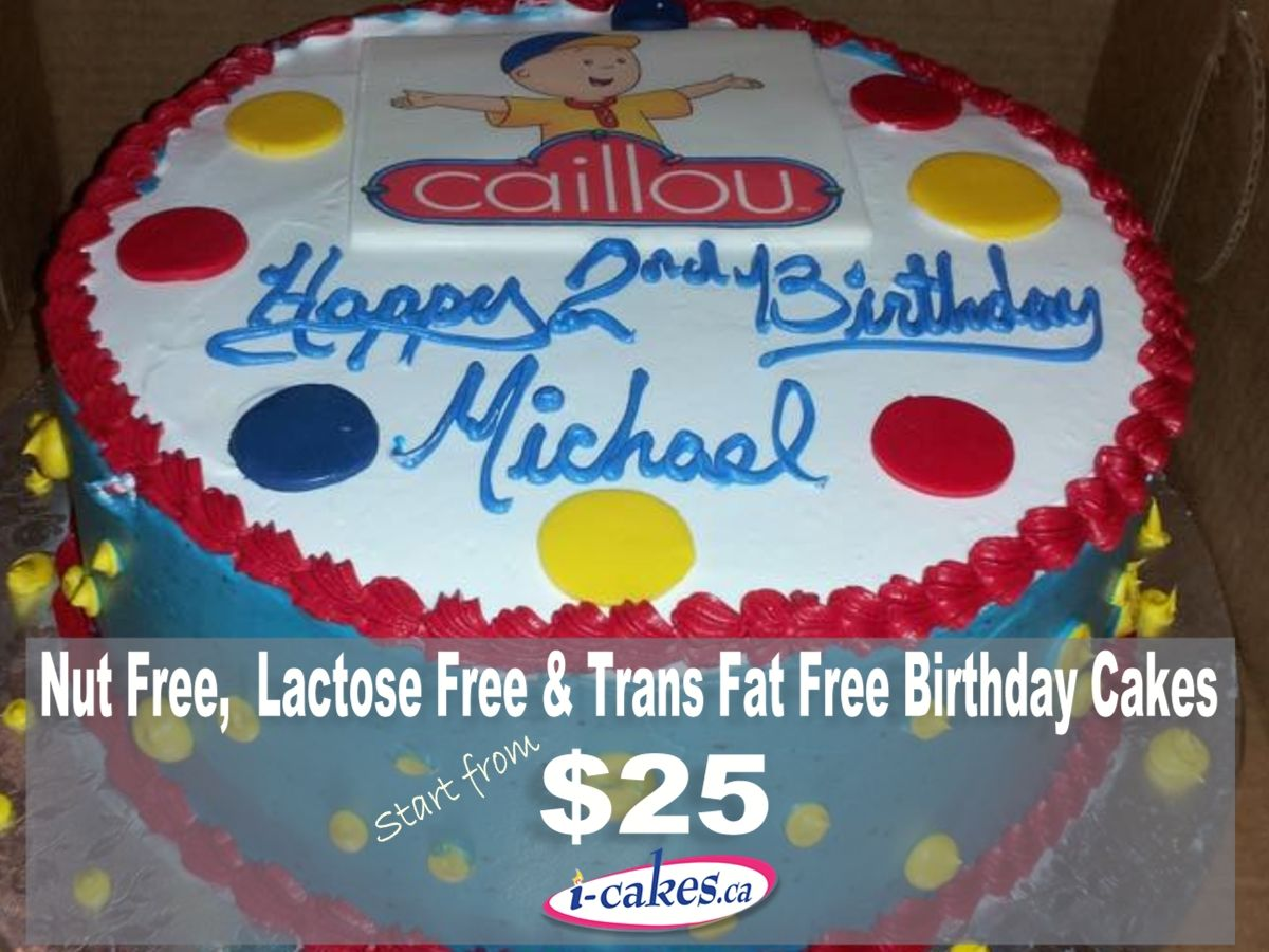 Birthday Cakes From Irresistible Cakes Nut Free Lactose Free