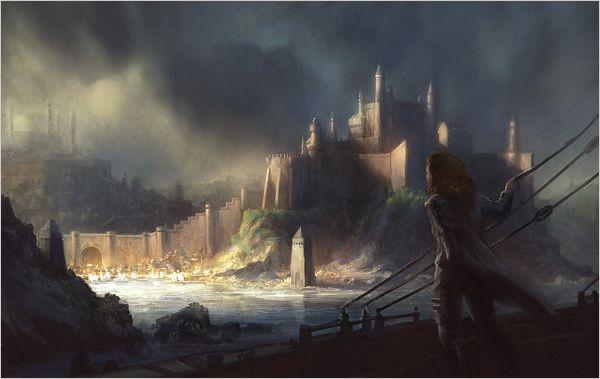 Juego De Tronos Castillos Y Ciudades Game Of Thrones King Wonders Of The World Concept Art