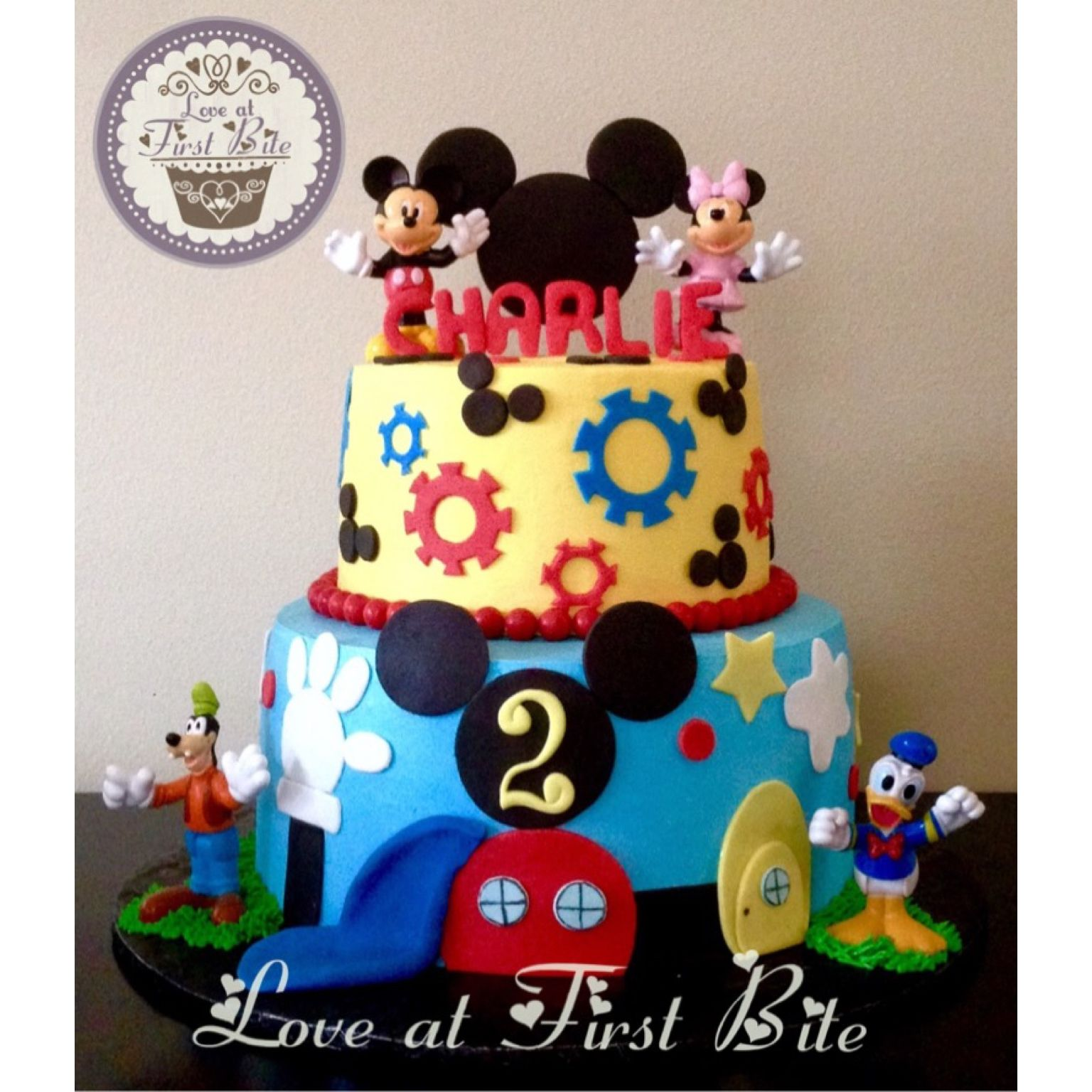 Mickey Mouse Cake By Love At First Bite In Nashville TN
