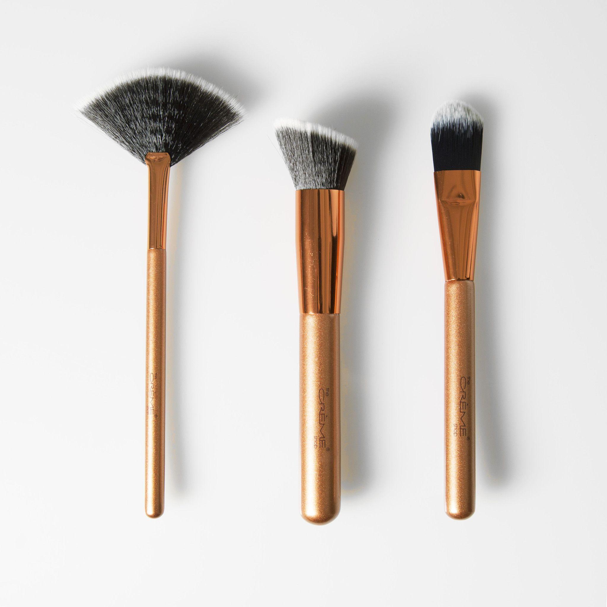 The Trieffecta Makeup Brush Set The Crème Shop Shop