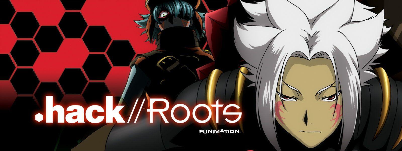 .hack//Roots Cyberpunk anime, Anime, Dot hack