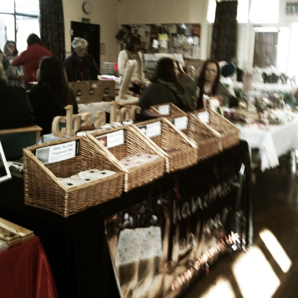 #Craft fair in Shropshire selling gorgeous #organic soaps  http://shop.urbantimes.co/