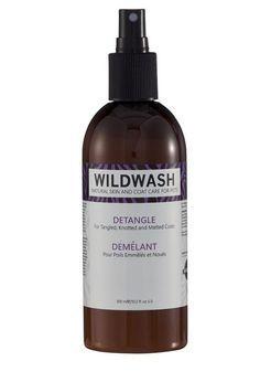 Démêlant naturel pour poils enmmêlés et noués pour chiens Wildlwash