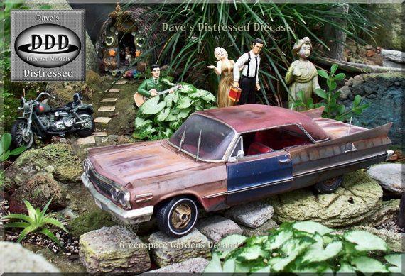 Model Junkyard Car For Sale 1 18 Scale Metal Diecast Model 1963