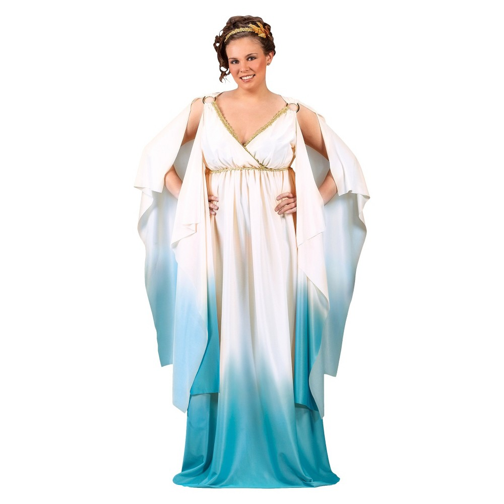 Womenu0027s Greek Goddess Costume Large  sc 1 st  Pinterest & Womenu0027s Greek Goddess Costume Large Purple/Black | Halloween Ideas ...