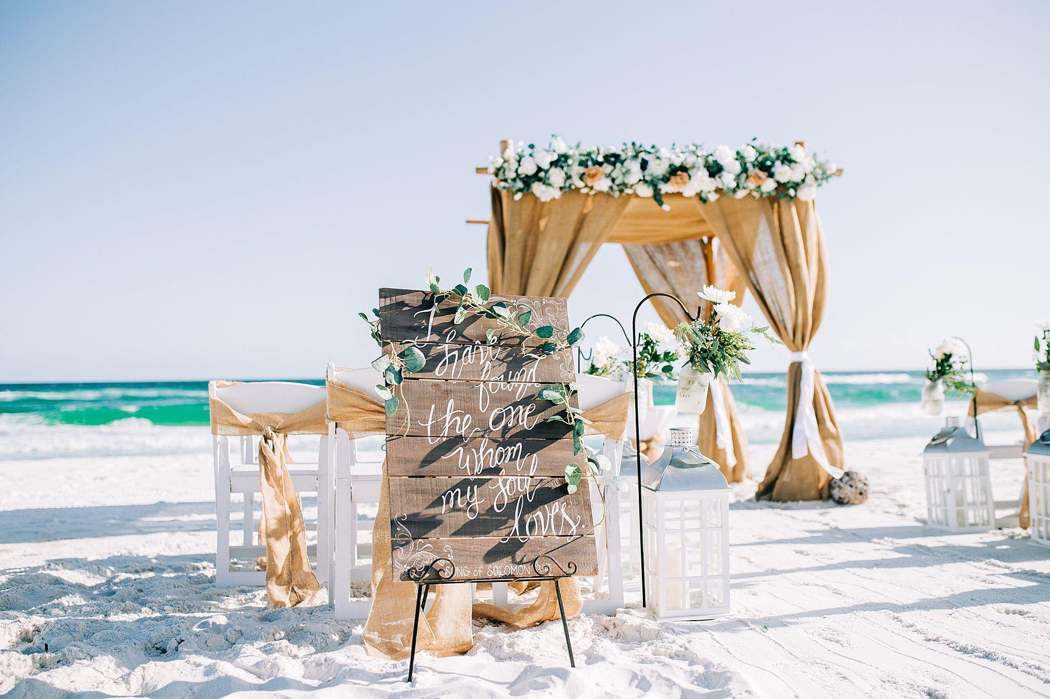 Your Wedding Getaway To Alabama In 2020 Dream Beach Wedding Florida Beach Wedding Beach Destination Wedding