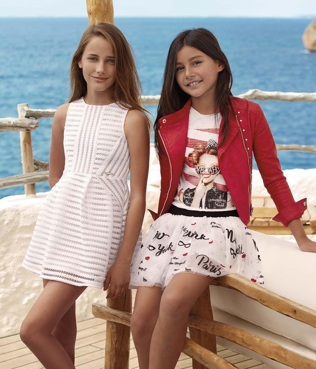 foto de MAYORAL Junior Collection Spring Summer 2017 Ropa para niñas Vestidos cortos para niñas