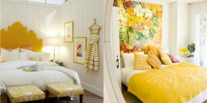 ▷ 1001 + ideas de decoración con cuadros para dormitorios   Cuadros ...
