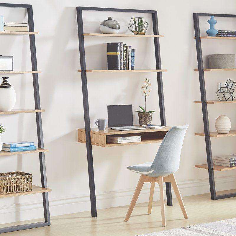 Theophanes Leaning Ladder Desk Ladder Desk Leaning Ladder Desk Leaning Desk