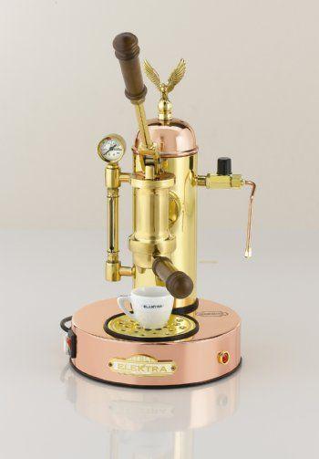 Ascaso Elektra Micro Casa A Leva Copper Brass Espresso Machine Modernhome Home