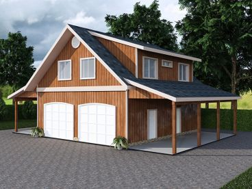 Garage plan with carport 012g 0047 dream home for Carport apartment