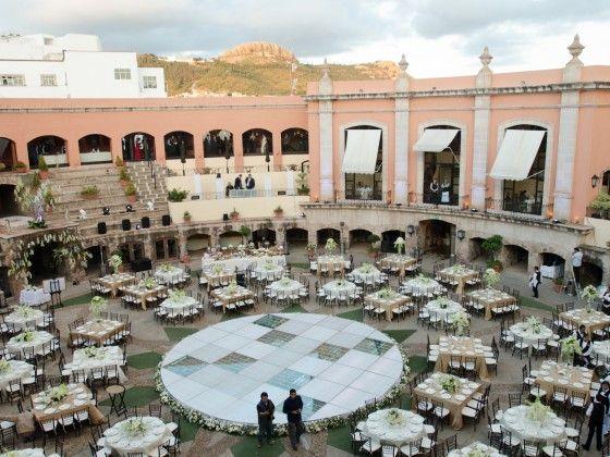 Real Weddings Pricing: Hotel Quinta Real #Zacatecas #wedding #romance