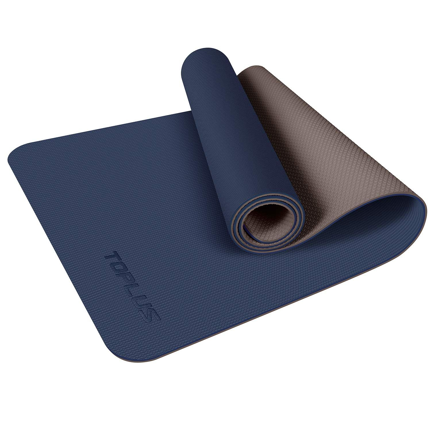 Yoga Mat Non Slip Yoga Mat Eco Friendly Exercise Workout Mat With Carrying Strap For Yoga Floor Workouts Mat Exercises Exercise