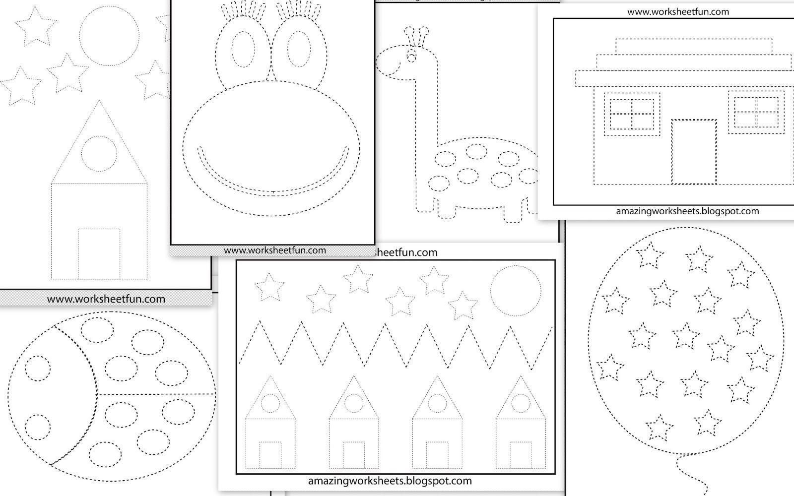 8 Printable Preschool Worksheets For Free In