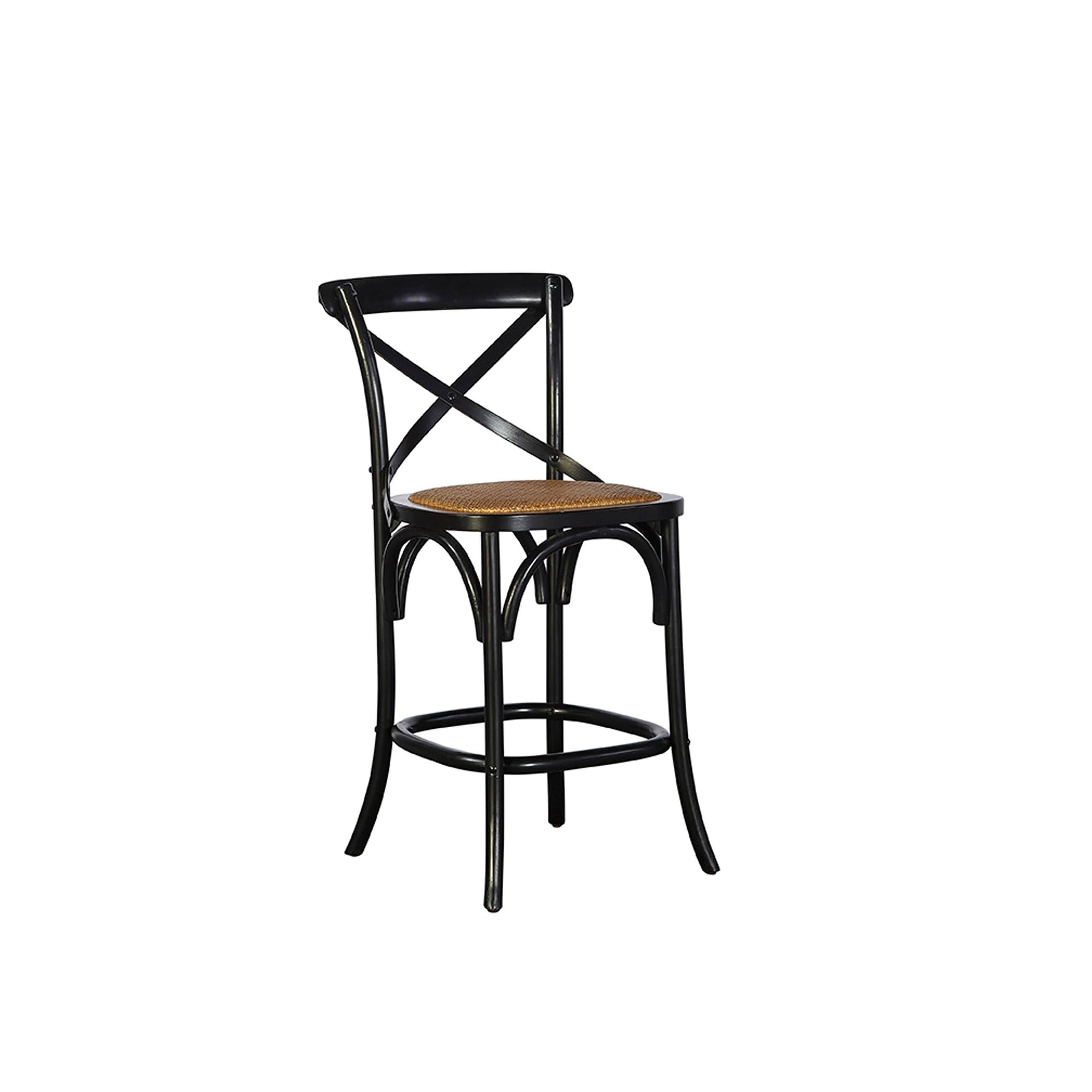 and black ikea on parisian henriksdal backrest bar stool stools with ideas category