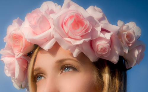 Yebbi Gongju Flower Crown Tumblr Transparent Flowers Orange Flower Crown