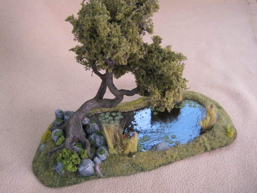 Pond - Wargaming Terrain #wargamingterrain