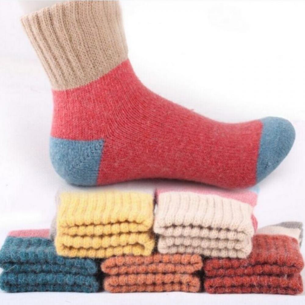 Photo of Conjunto de calcetines de lana cálida para mujer Precio: $ 18.00