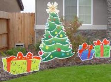 decorating hay for christmas - Google Search | Gingerbread wood ...