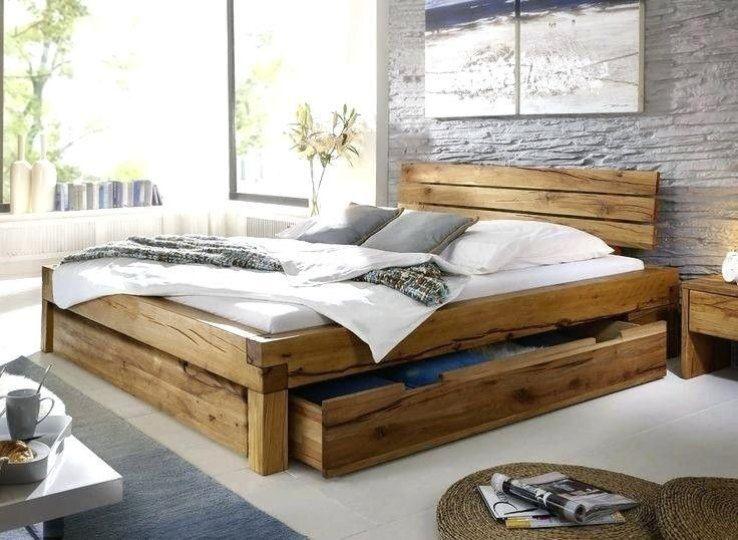 Pin Von Shila Lesner Auf Alcoba In 2020 Bett Holz Bett Massivholz Bett Eiche