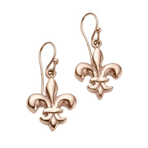 88abafc0e Fleur-de-lis Earrings in 2019 | Classics | Silver, Rose gold, Earrings