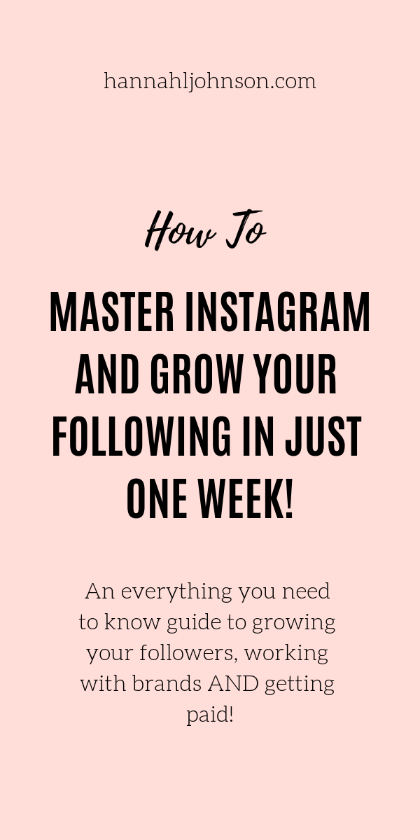 Mastering Instagram doesn't have to be hard anymore! Instagram Girl Boss is a comprehensive guide to growing your Instagram and making money! #howtogrowyourinstagram #howtoinstagram #instagramfollowing #growinstagram