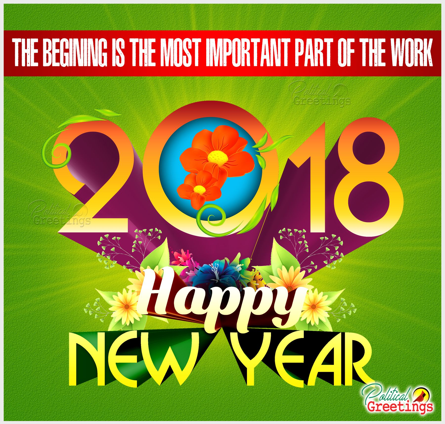 Happy new year 2018 wishes quotes and greetings HD ...