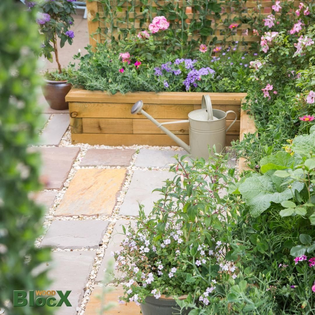 Use our wooden blocx to create beautiful borders for patios fill with bright blooms or herbs Quick updates using our easy to build modular system can totally transform a...
