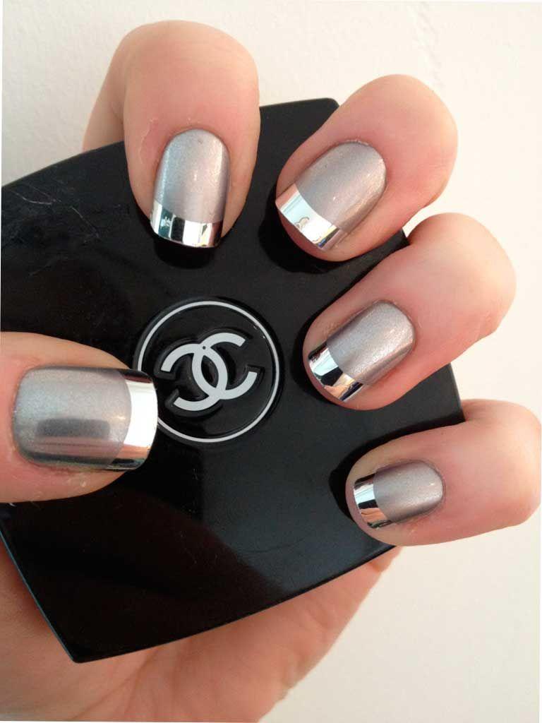 Diseño de uñas mate y metálicas | uñas | Pinterest | Diseños de uñas ...