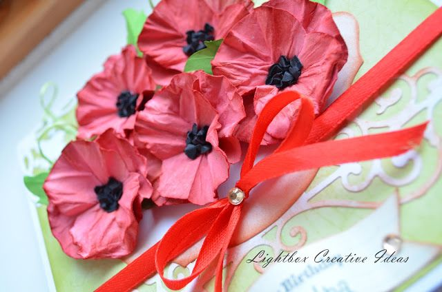 Card full of poppies !