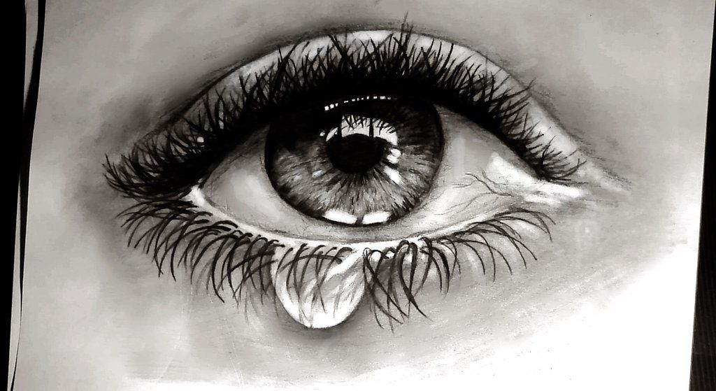 Crying Eye By Gosiasullivana7x On Deviantart Crying Eyes Crying