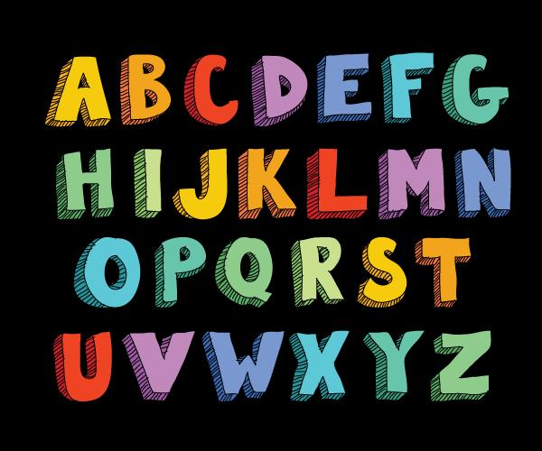 Block letter alphabetg hand lettering alphabets pinterest block letter alphabetg altavistaventures Gallery