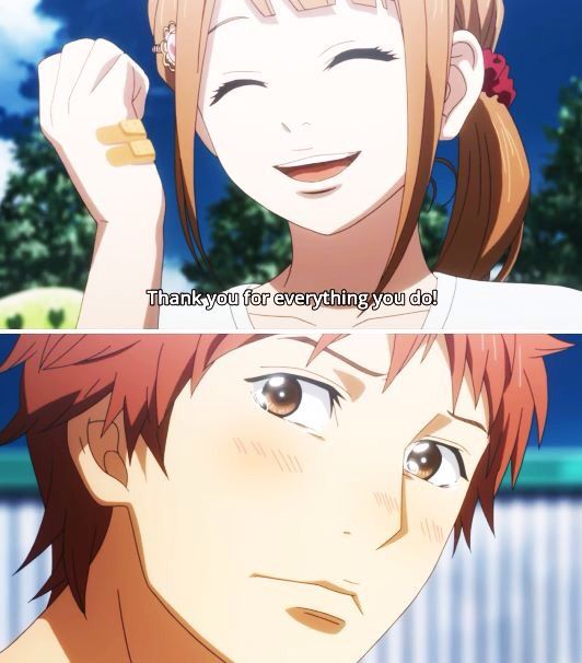 Orange I Cried A Little Anime Orange Anime Suwa