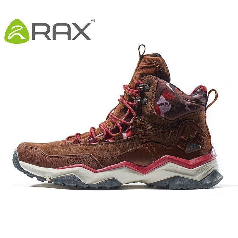 RAX 2016 Waterproof Hiking Shoes Men Winter Hiking Boots Women Hunting Boots  Outdoor Boots Men Climbing Walking Trekking Shoes 8171cdf40