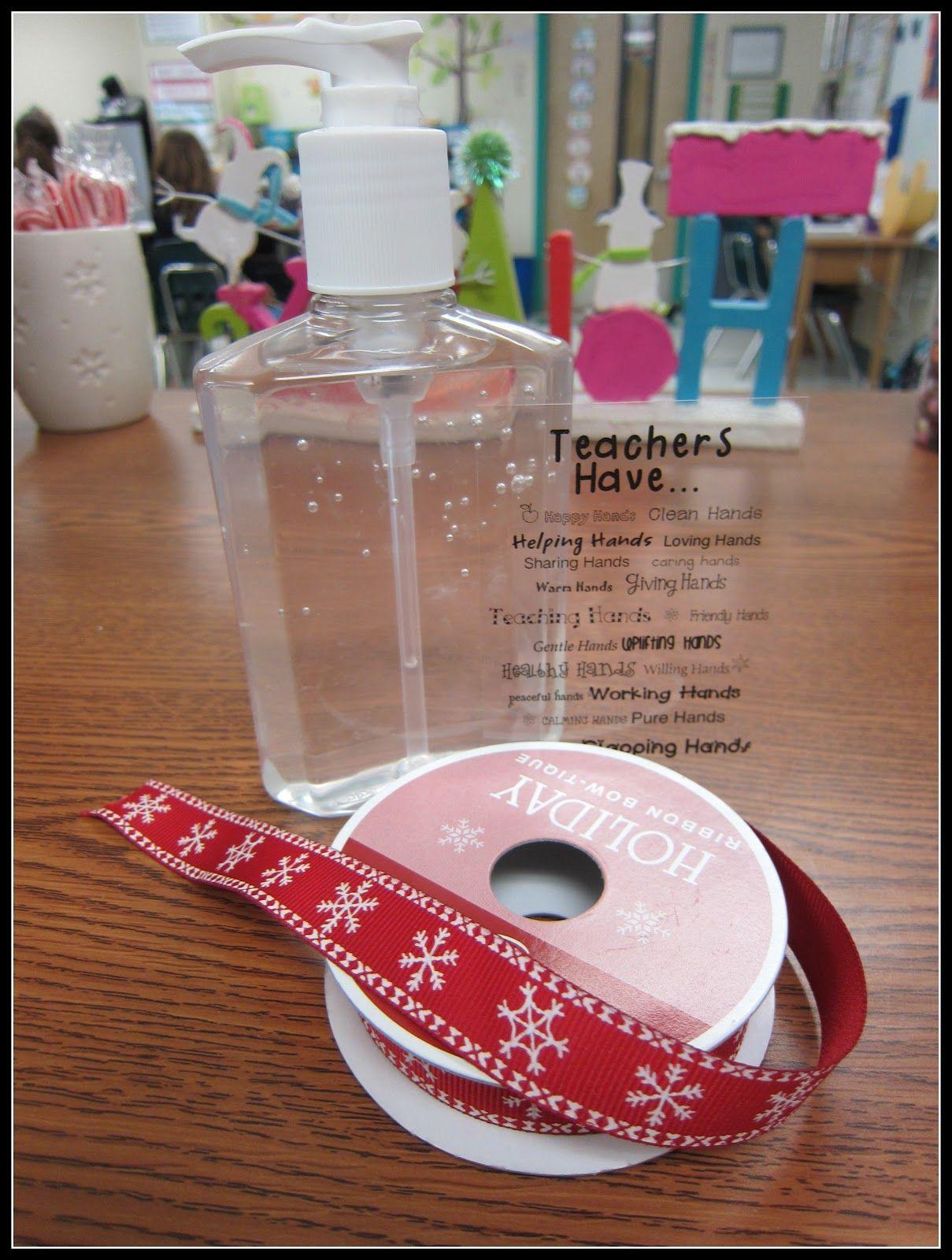 Diy Personalized Hand Sanitizer Hand Sanitizer Teacher