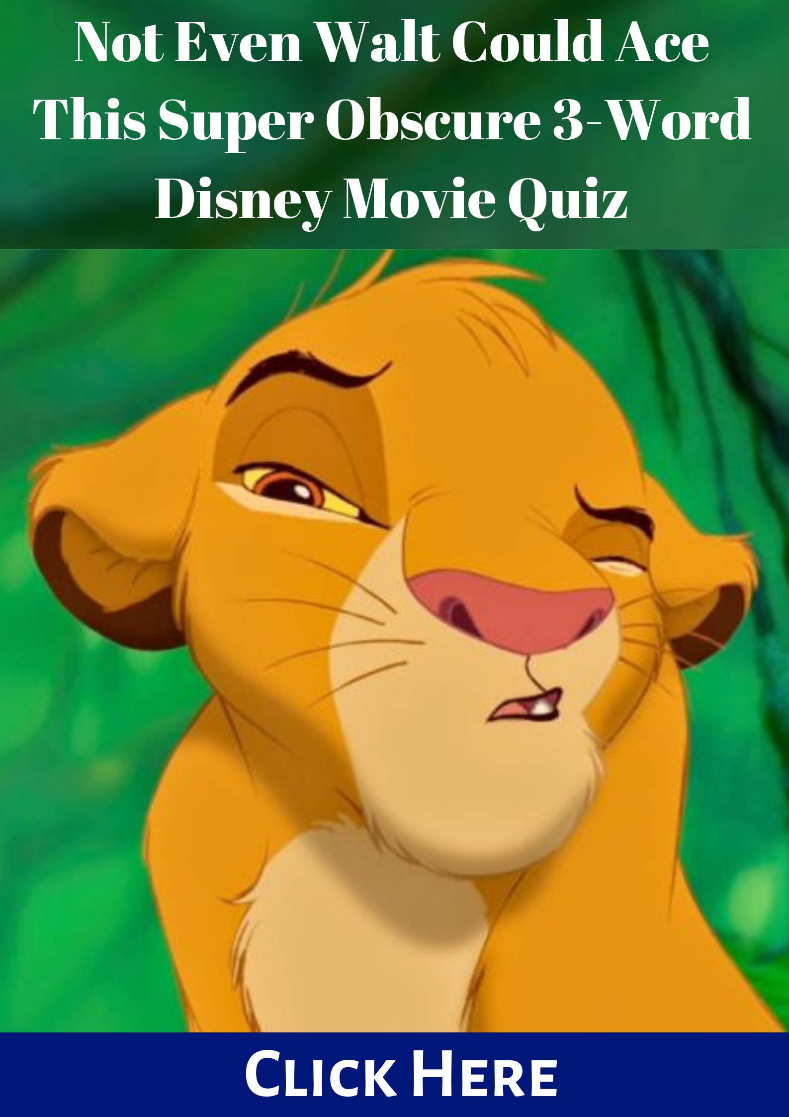 Not Even Walt Could Ace This Super Obscure 3 Word Disney Movie Quiz Disney Movie Quiz Movie Quiz Movie Quizzes