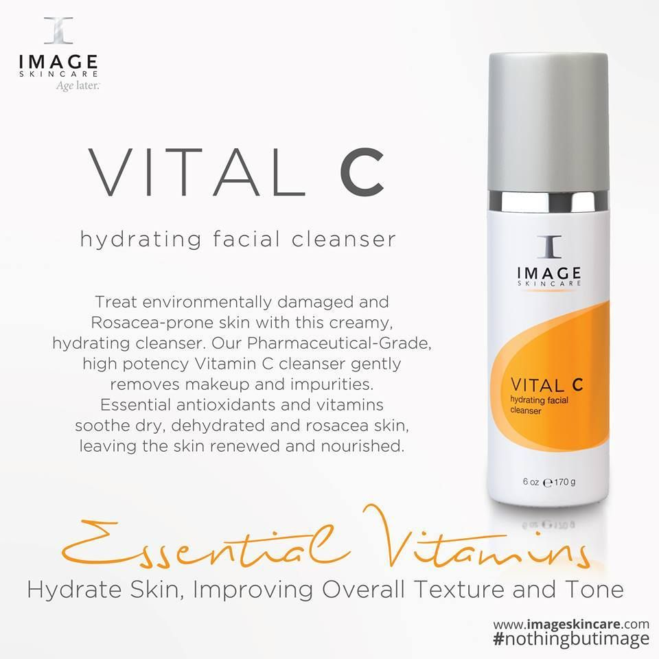 Vital C Hydrating Facial Cleanser Image Skincare In 2019 Skin