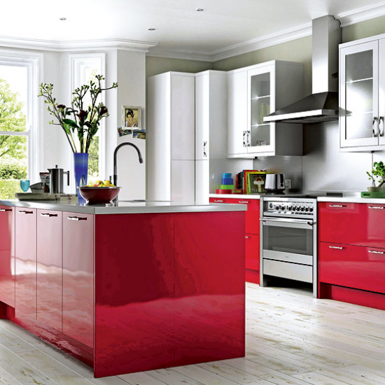 Americanstyle Fridge Freezers  Our Pick Of The Best  Red Mesmerizing B & Q Kitchen Design Inspiration
