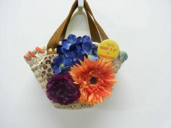 guri guri (colorful ethnic flower bag)