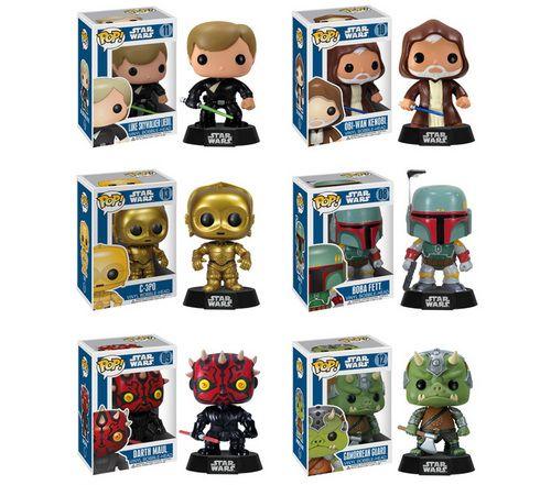 Pop Star Wars Series 2 Funko Pop Star Wars Star Wars Toys Vinyl Figures