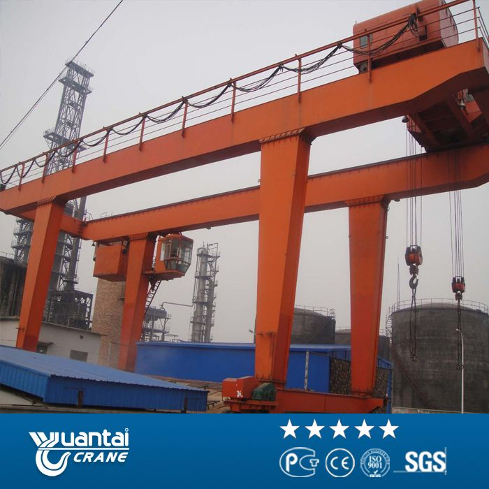 Product Type:	MG Lifting Capacity:	5t~500t Span Length:	12~35m Working Class:	A5,A6 Ambient Temperature:	-20~40℃ http://www.ytcrane.com/products/gantry-crane/mg-double-girder-gantry-crane.html