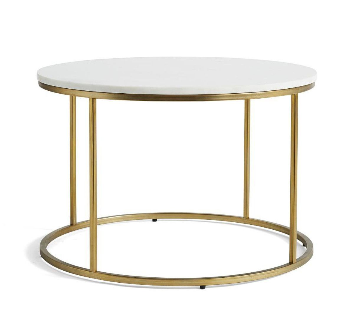 Delaney Round Coffee Table Marble Round Coffee Table Round Coffee Table Coffee Table Pottery Barn [ 1080 x 1200 Pixel ]