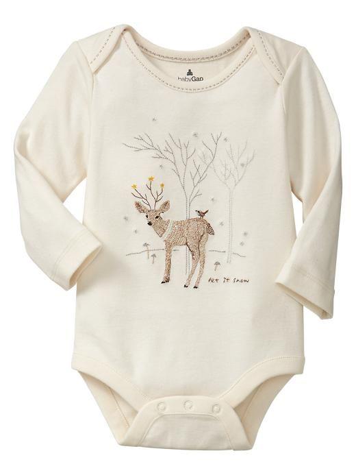 42e7bdcbdc9 Favorite lapped graphic bodysuit Baby GAP