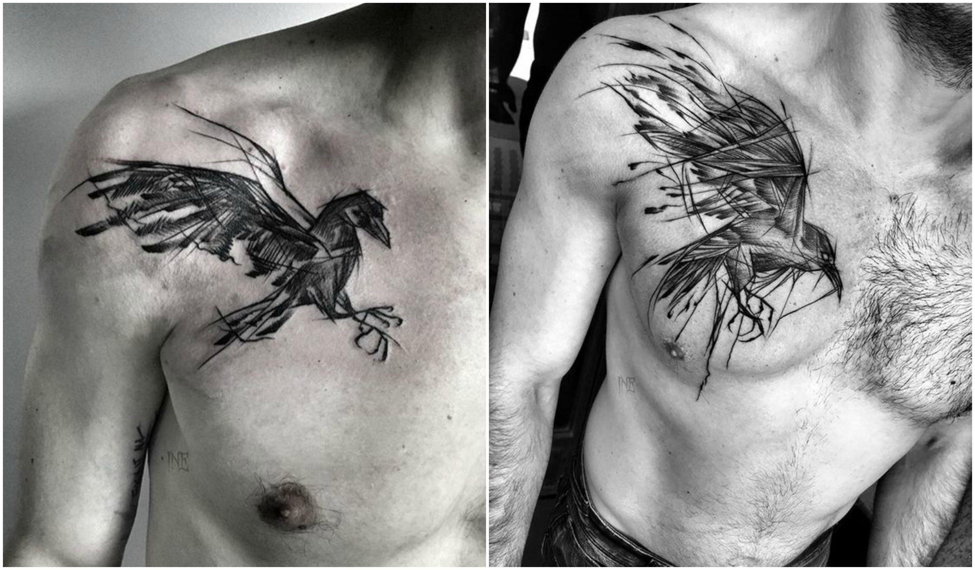 16 Tatuajes De Aves Para Hombres Libres 9 Tatuajes De Aves Disenos De Unas Tatuajes