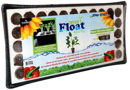 Hydrofarm JSEF55 Smart Float Grow Tray with Plugs *** Continue to the product at the image link.