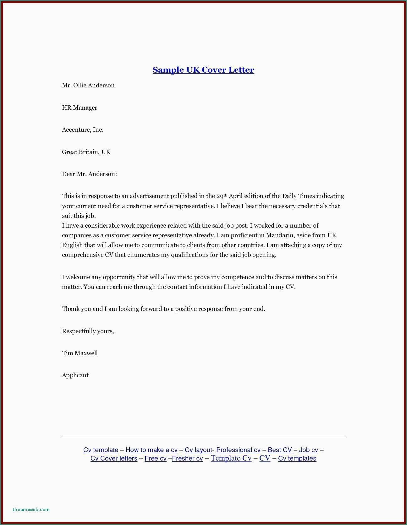 Inspirational How to Do A Job Cover Letter Job cover