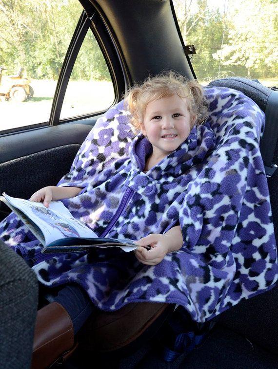 Car Seat Poncho Boys Car Seat Poncho Girls Carseat Poncho Car